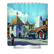 Watercolor3823 Shower Curtain