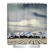 Watercolor3970 Shower Curtain