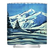 Watercolor3977 Shower Curtain
