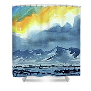 Watercolor3987 Shower Curtain