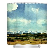 Watercolor4014 Shower Curtain