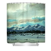 Watercolor4018 Shower Curtain