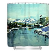 Watercolor4215 Shower Curtain