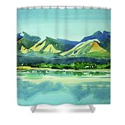 Watercolor4469 Shower Curtain