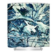 Watercolor4586 Shower Curtain