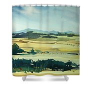 Watercolor4622 Shower Curtain