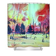 Watercolor4632 Shower Curtain
