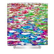Watercolors Shower Curtain