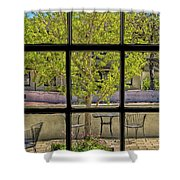 Watercolors Of The Garden Shower Curtain