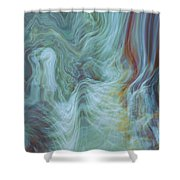 Waterfall Angel Shower Curtain