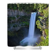 Waterfall At Brandywine Falls Provincial Park Shower Curtain