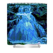 Waterfall At Finch 2 Shower Curtain