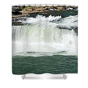 Waterfall At Ohiopyle State Park Shower Curtain