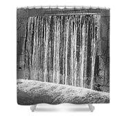 Waterfall Backdrop Shower Curtain