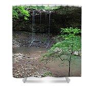 Waterfall Base Shower Curtain