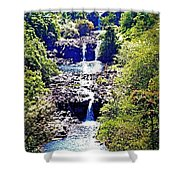 Waterfall Beauty Shower Curtain