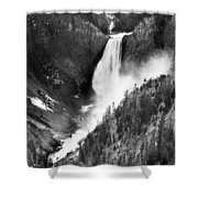 Waterfall, C1900 Shower Curtain