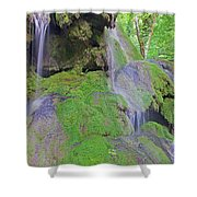 Waterfall Details Shower Curtain