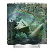 Waterfall Dreams Shower Curtain
