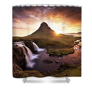 Waterfall Fantasy Shower Curtain