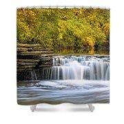 Waterfall Glen, Lemont, Il Shower Curtain