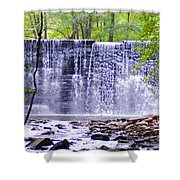 Waterfall In Gladwyne Shower Curtain