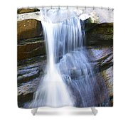 Waterfall In Nh Shower Curtain