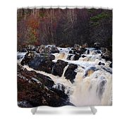 Waterfall In Scotland Shower Curtain