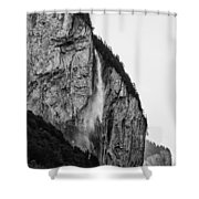 waterfall in Switzerland Shower Curtain