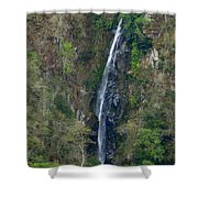 Waterfall In The Intag 2 Shower Curtain