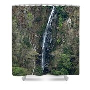 Waterfall In The Intag 3 Shower Curtain