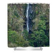 Waterfall In The Intag 6 Shower Curtain
