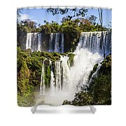 Waterfall In The Jungle Shower Curtain