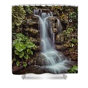 Waterfall In The Opryland Hotel Shower Curtain