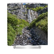 Waterfall Love Shower Curtain