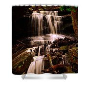 Waterfall Mcconnells Mills State Park Shower Curtain