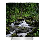 Waterfall Medley Shower Curtain