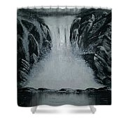 Waterfall Of Life Shower Curtain
