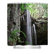 Waterfall Portrait Shower Curtain