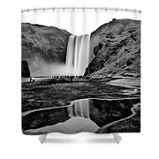 Waterfall Reflections Shower Curtain
