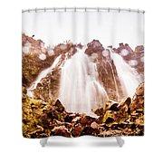 Waterfall Scenics  Shower Curtain