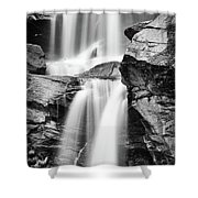 Waterfall Study 3 Shower Curtain