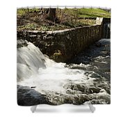 Waterfall Times Two Shower Curtain