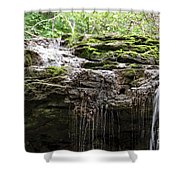 Waterfall Top Shower Curtain