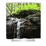 Waterfall Topper Shower Curtain