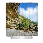 Waterfall, Truman Track Shower Curtain