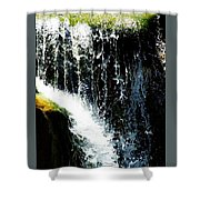 Waterfall  Up Close  Shower Curtain