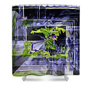 Waterfall Vortex Shower Curtain