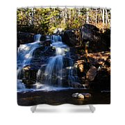 Waterfall, Whitewall Brook Shower Curtain