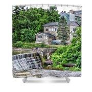 Waterfalls Cornell University Ithaca New York 04 Shower Curtain